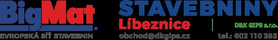BigMat STAVEBNINY Libeznice - DK Gips